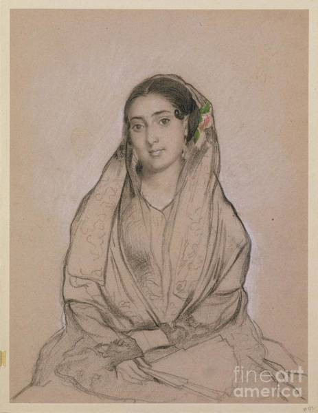 Painting - Portrait Of A Young Spanish Jewess by Alfred Dehodencq