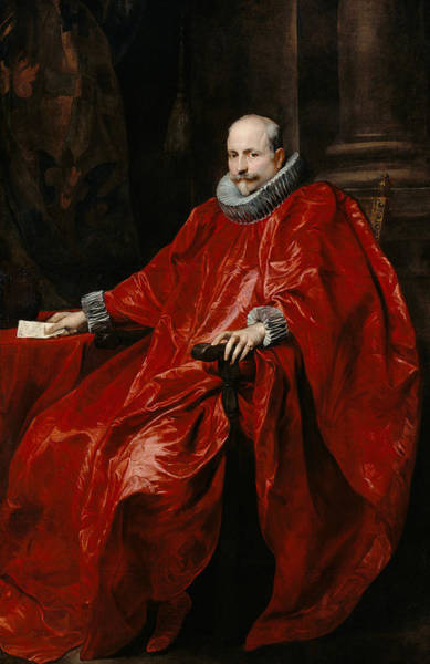 Painting - Portrait Of Agostino Pallavicini by Anthony van Dyck