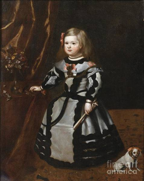 Painting - Portrait Of An Infant by Celestial Images