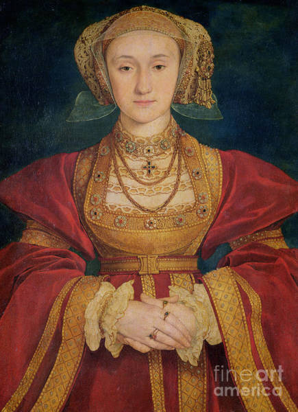 Northern Renaissance Wall Art - Painting - Portrait Of Anne Of Cleves  by Hans Holbein