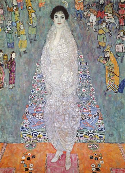 Wall Art - Painting - Portrait Of Baroness Elisabeth Bachofen Echt by Gustav Klimt
