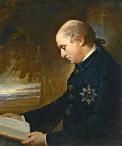 Romney Painting - Portrait Of Charles Lennox 3rd Duke Of Richmond And Lennox by George Romney
