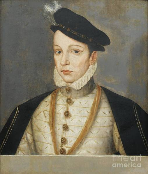 Painting - Portrait Of Charles X by Celestial Images