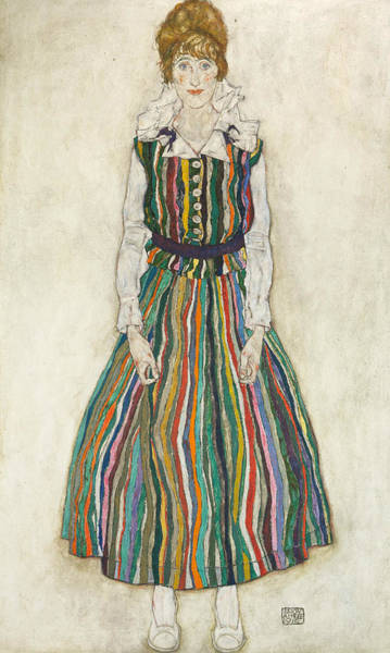 Painting - Portrait Of Edith by Egon Schiele