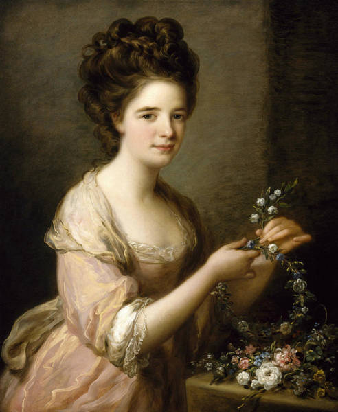 Painting - Portrait Of Eleanor, Countess Of Lauderdale by Angelica Kauffman