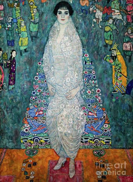 Photograph - Portrait Of Elisabeth Lederer by Gustav Klimt