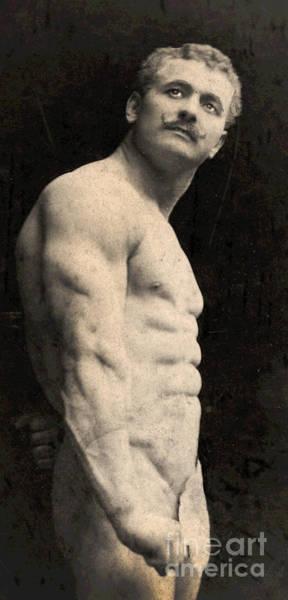 Physique Photograph - Portrait Of Eugen Sandow by English School