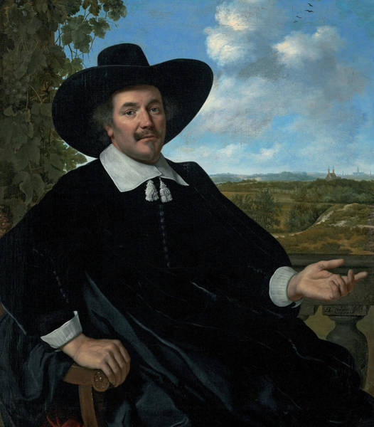 Gabriel Painting - Portrait Of Gabriel Marselis by Bartholomeus van der Helst