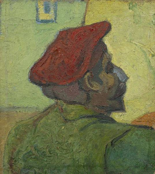 Painting - Portrait Of Gauguin Arles December 1888 Vincent Van Gogh 1853  1890 by Artistic Panda