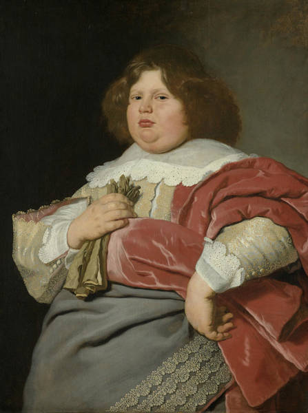17th Century Wall Art - Painting - Portrait Of Gerard Andriesz Bicke by Bartholomeus van der Helst