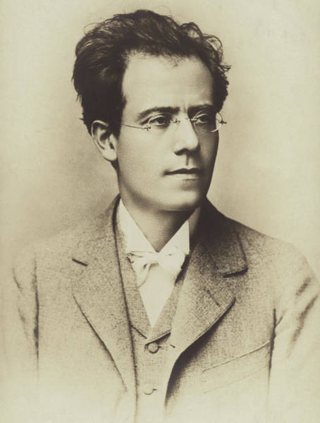 Jewish Music Wall Art - Photograph - Portrait Of Gustav Mahler by Austrian School
