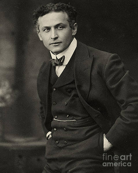 Wall Art - Photograph - Portrait Of Harry Houdini Circa 1913 by American School