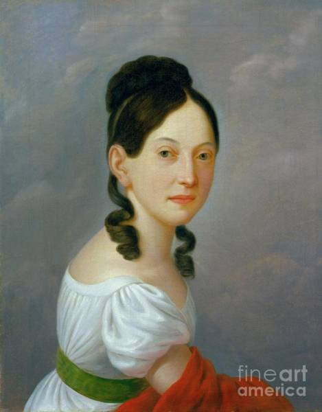 Painting - Portrait Of Henrietta Reiss Levisthal by Celestial Images