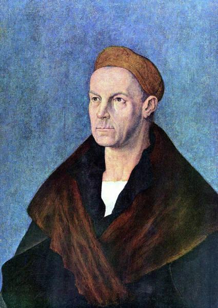 Painting - Portrait Of Jakob Fugger by Albrecht Durer