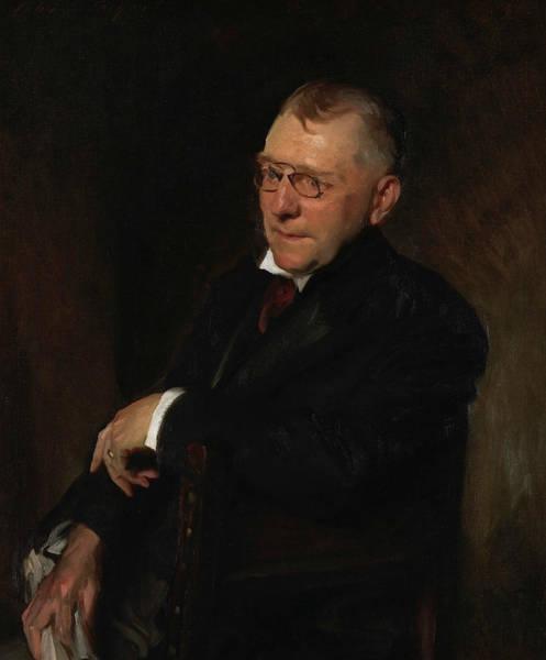Portrait Of James Whitcomb Riley, 1903 Art Print