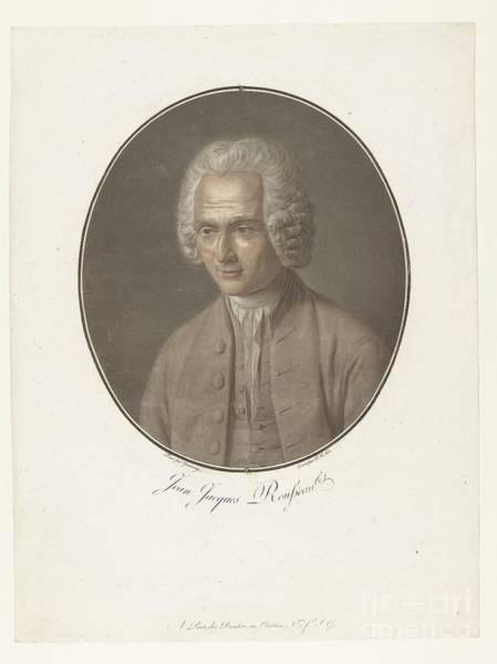 Wall Art - Painting - Portrait Of Jean-jacques Rousseau by Celestial Images