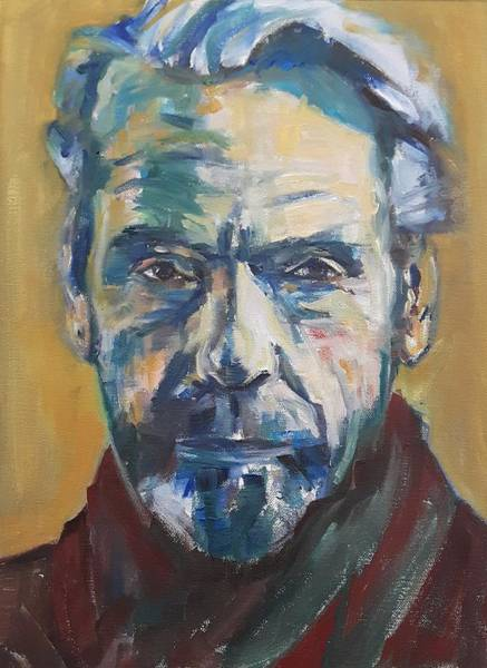 Painting - Portrait Of Jeremy by Christel Roelandt