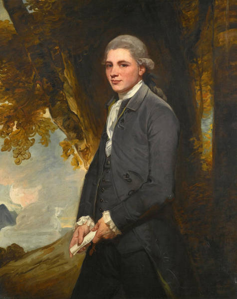Romney Painting - Portrait Of John Redhead by George Romney