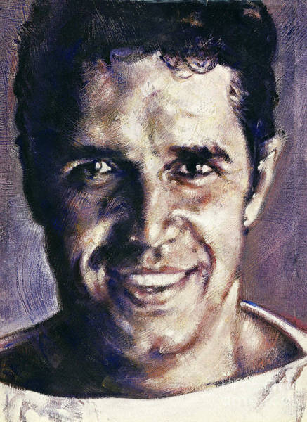 Painting - Portrait Of Julien Clerc by Ritchard Rodriguez