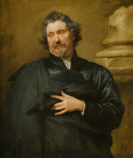 Painting - Portrait Of Karel Van Mallery by Anthony van Dyck