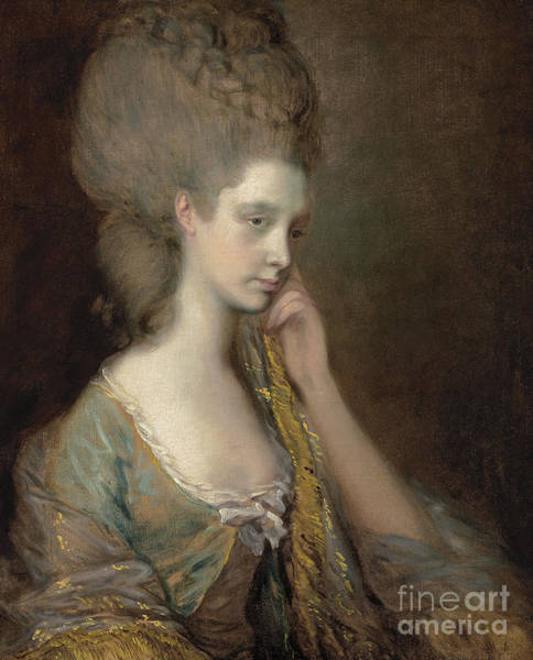 Wealth Painting - Portrait Of Lady Anne Thistlethwaite, Countess Of Chesterfield  by Thomas Gainsborough