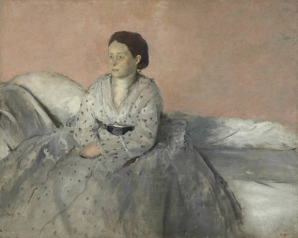 Painting - Portrait Of Madame Rene De Gas by Edgar Degas