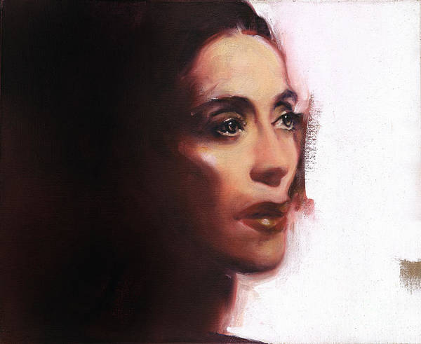 Painting - Portrait Of Martha Graham by Ritchard Rodriguez
