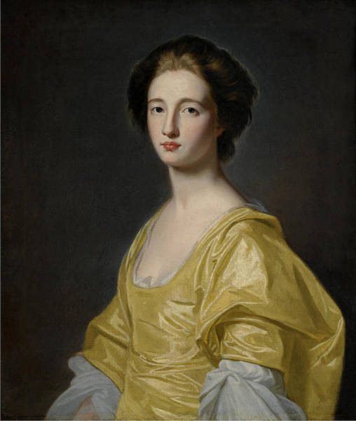 Romney Painting - Portrait Of Mary Wilson by George Romney