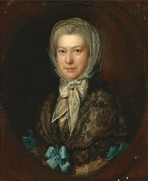 Thomas Gainsborough Wall Art - Painting - Portrait Of Miss Low by Thomas Gainsborough