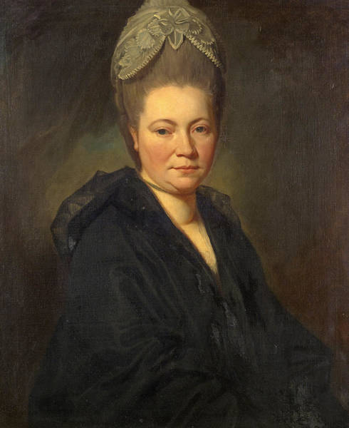 Romney Painting - Portrait Of Mrs. Marie-jean Gomm by George Romney