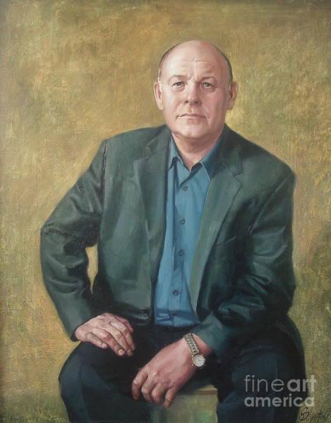 Ignatenko Painting - Portrait Of My Father by Sergey Ignatenko