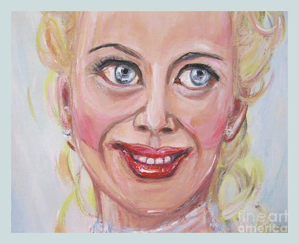 Painting - Portrait Of Nicole Kidman. Painting The Best Actress by Oksana Semenchenko