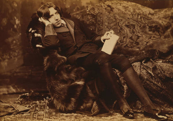 Wall Art - Photograph - Portrait Of Oscar Wilde by Sarony Napoleon