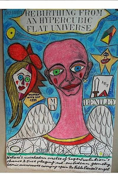 Wall Art - Painting - Portrait Of Pablo Picasso by Francesco Martin