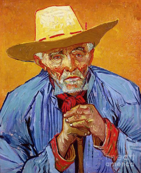 Elderly Painting - Portrait Of Patience Escalier by Vincent van Gogh