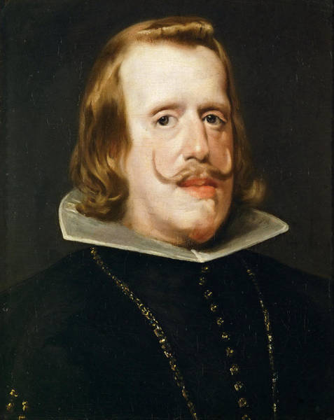 Velazquez Wall Art - Painting - Portrait Of Philip Iv King Of Spain by Workshop of Diego Velazquez