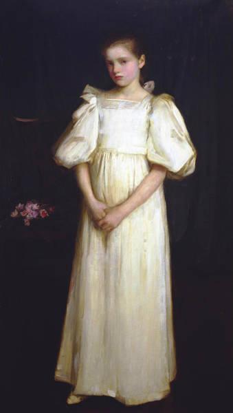Painting - Portrait Of Phyllis Waterlo by John William Waterhouse