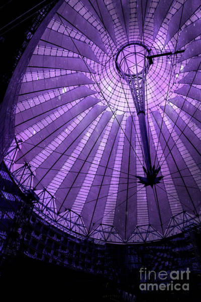 Photograph - Portrait Of Purple Cosmic Berlin by Brenda Kean