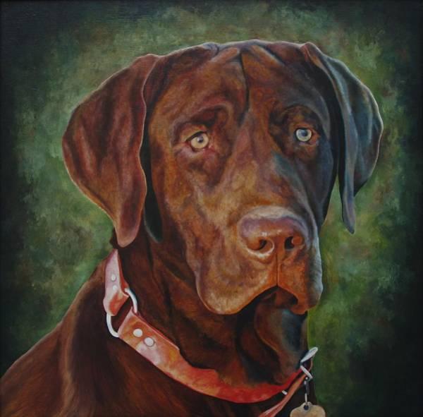 Portrait Of Remington 0094_2 Art Print