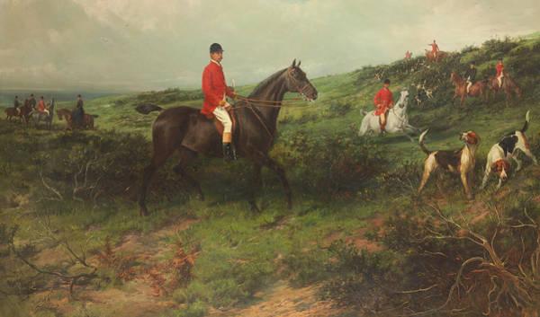 Steed Painting - Portrait Of Richard James Streatfeild by George Earl