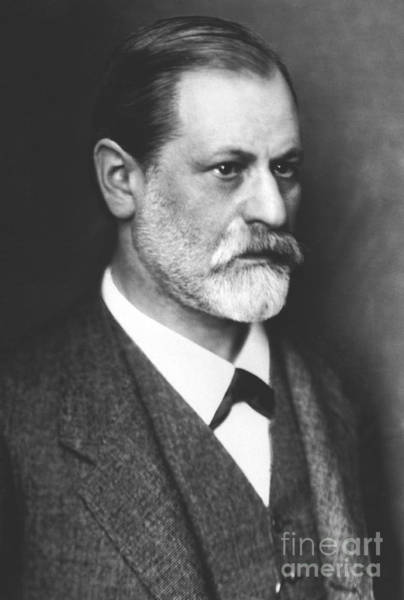 Wall Art - Photograph - Portrait Of Sigmund Freud Circa 1900  by Austrian School