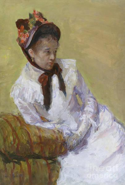 Cassatt Painting - Portrait Of The Artist by Mary Stevenson Cassatt