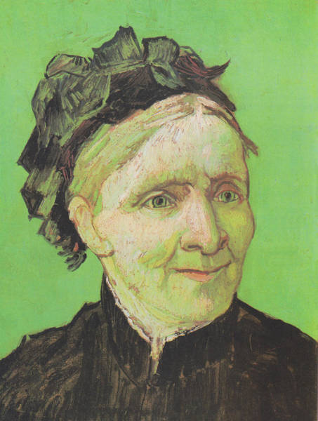 Wall Art - Painting - Portrait Of The Artist Vincent Van Gogh Mother 1888 by Vincent Van Gogh