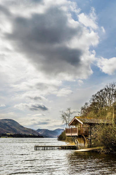Pooley Bridge Wall Art - Photograph - Portrait Of The Duke Of Portland Boathouse  by Naylors Photography