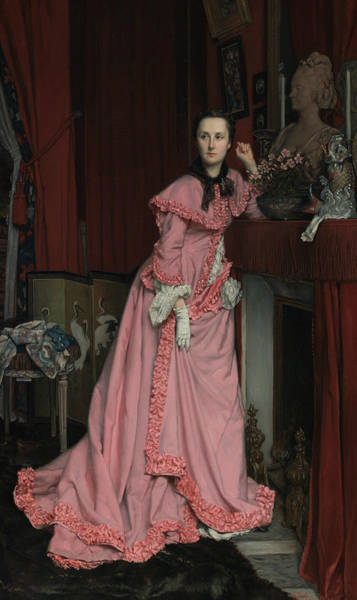 Painting - Portrait Of The Marquise De Miramon by James Tissot