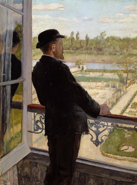 Painting - Portrait Of The Swedish Painter Karl Nordstrom by Christian Krohg