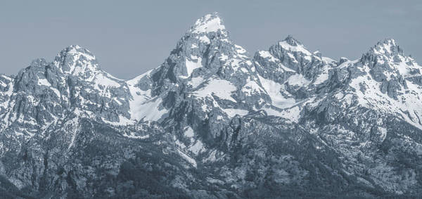 Photograph - Portrait Of The Tetons by Dan Sproul