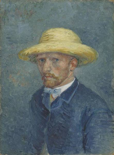 Painting - Portrait Of Theo Van Gogh Paris, Summer 1887 Vincent Van Gogh 1853  1890 by Artistic Panda