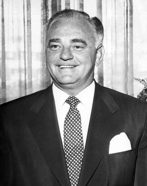 Photograph - Portrait Of Wilbur Clark by Underwood Archives