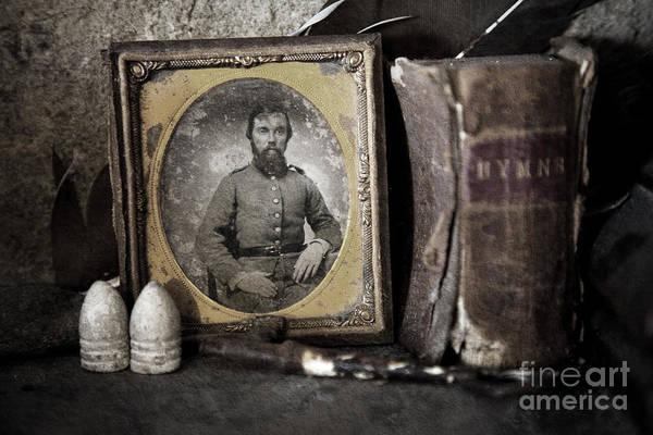 Photograph - Portrait On The Mantle by Pete Hellmann